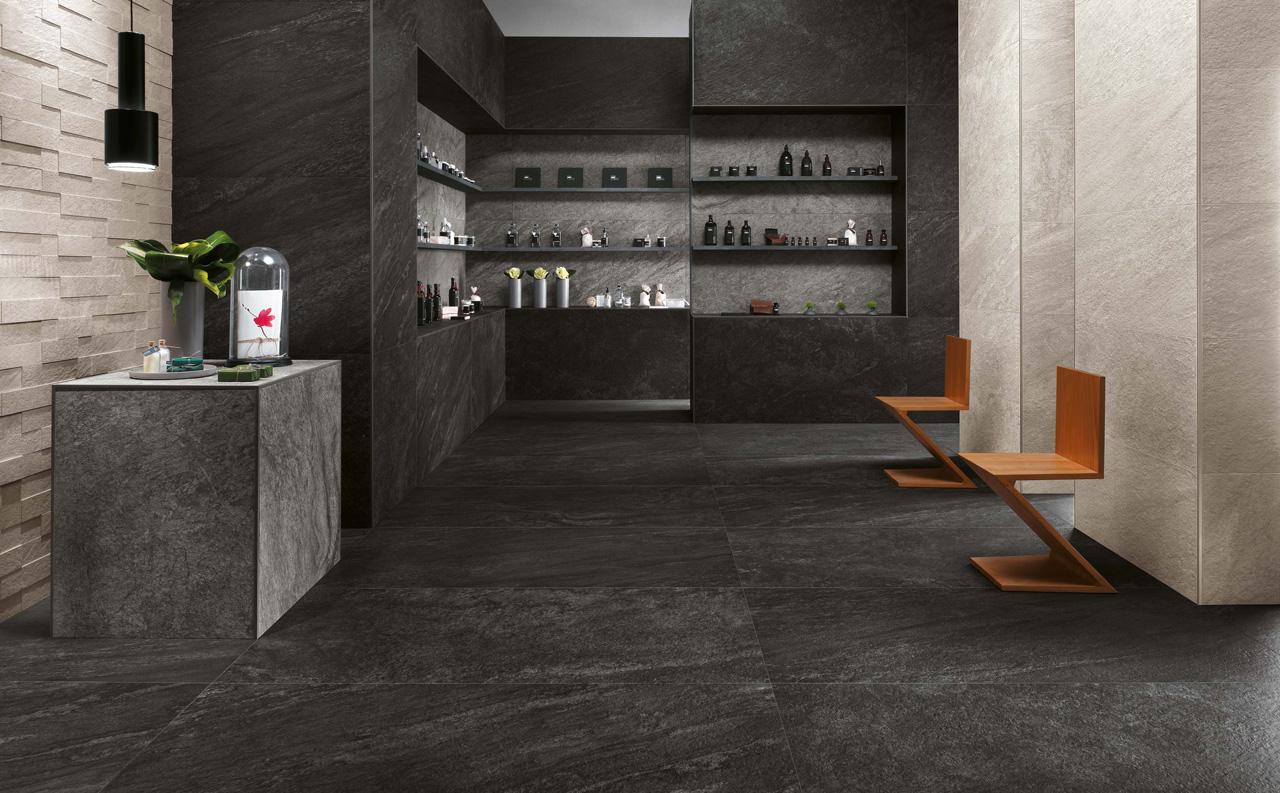 fliesen in natursteinoptik rif fliesenkompetenz. Black Bedroom Furniture Sets. Home Design Ideas